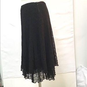 Elie Tahari Skirts - Elie Tahari Black Skirt-Size 6